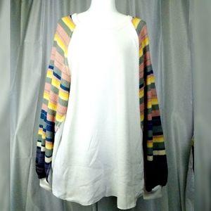 Free People Knit Sweater Oversized